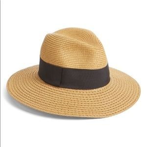 Nordstrom Wide Brim Straw Panama Hat